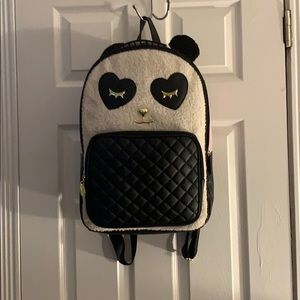Betsey Johnson Panda backpack NWT SO CUTE!